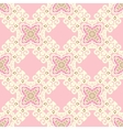 pink tiled seamless pattern vector image