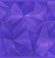 purple triangle pattern vector image vector image