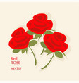 rose bouquet icon vector image