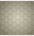 Vintage Damask background vector image