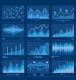 big data blueprint data analytics vector image