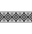 aztec style ornament vector image vector image