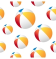 Beach ball background vector image vector image