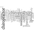 chiropractor cranberry twp pa vector image vector image