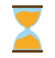 hourglass time icon image vector image vector image