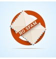 No spam vector image vector image