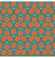 orange wave textile squiggles seamless pattern vector image vector image