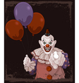 Scary Clown vector image vector image