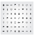 set of web universal icons vector image vector image