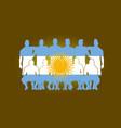 soccer team flag design russia wallpaper sport vector image vector image