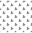 spa eco leafs pattern seamless vector image vector image