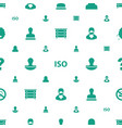 stamp icons pattern seamless white background vector image vector image