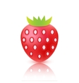 strawberry berry icon isolated vector image vector image