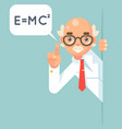 consultant scientist education support help vector image vector image