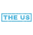 The Us Rubber Stamp vector image vector image