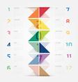 2017 Calendar colorful concept design vector image vector image