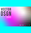 abstract gradient background for web banner vector image vector image