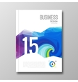 Business design template Cover brochure book vector image vector image