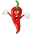 chili pepper cartoon vector image