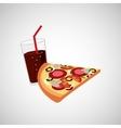 fast food menu design vector image