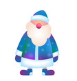 father frost russian santa claus ded moroz vector image vector image