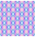 Geometric Seamless blue pink rectangle Pattern vector image vector image