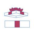 gift present box vector image vector image