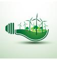 Green idea2 vector image vector image