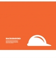 Hard hat sign icon Construction helmet symbol vector image vector image