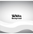 modern white wavy gray background image vector image vector image