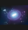 universe system realistic composition vector image vector image