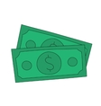 Dollar notes vector image