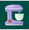 Kitchen blender flat vector image