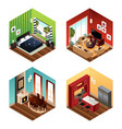 modern home vector image vector image