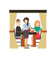 street people flat vector image vector image