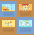 teamwork and startup business vector image vector image