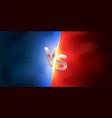 versus background vector image
