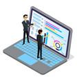 analysing infocharts creating presentation