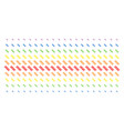 dna spiral shape halftone spectrum array vector image