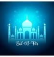 Eid Al Fitr Eid Mubarak background vector image vector image