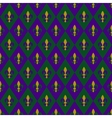 Mardy gras background vector image vector image