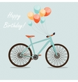 Retro Bicycle Background vector image vector image