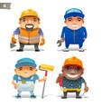 construction professions set-2 vector image