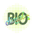 biodiesel natural energy concept vector image