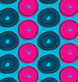 Blue and pink circles vector image vector image