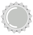 bottle cap icon vector image