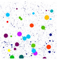 colorful paint of paint background vector image