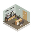 Human organs isometric composition