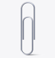 Paper clip vector image vector image