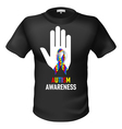 Tshirts autism awareness vector image vector image